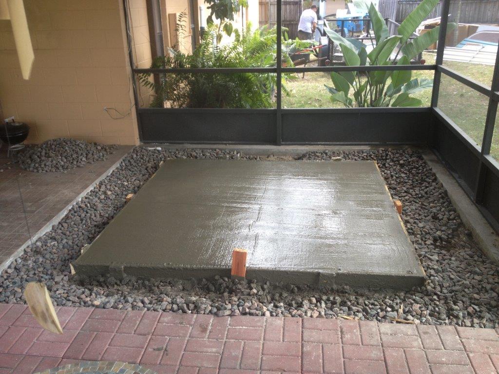 Concrete Pads Brevard County Florida