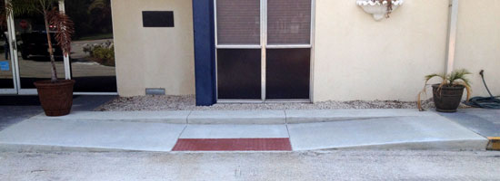 Audobon Elementary School Concrete Pavement & Sidewalks