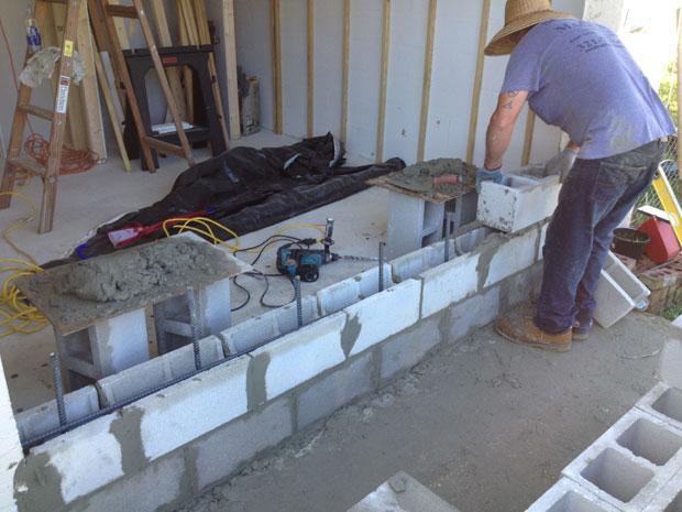Brevard Concrete Block Wall Addition 05