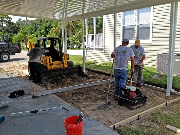 Cocoa, Florida Concrete Driveway 03