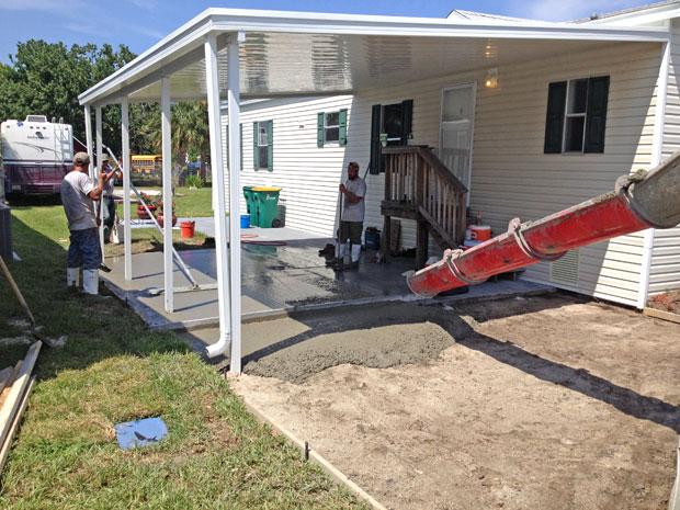 Cocoa, Florida Concrete Driveway 06