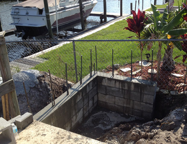 Concrete Block Retaining Wall 10
