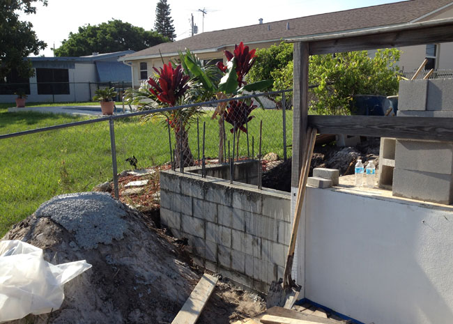 Concrete Block Retaining Wall 12