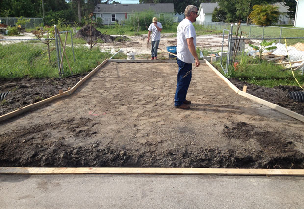 Concrete Driveway with Culvert in Palm Bay, FL 04