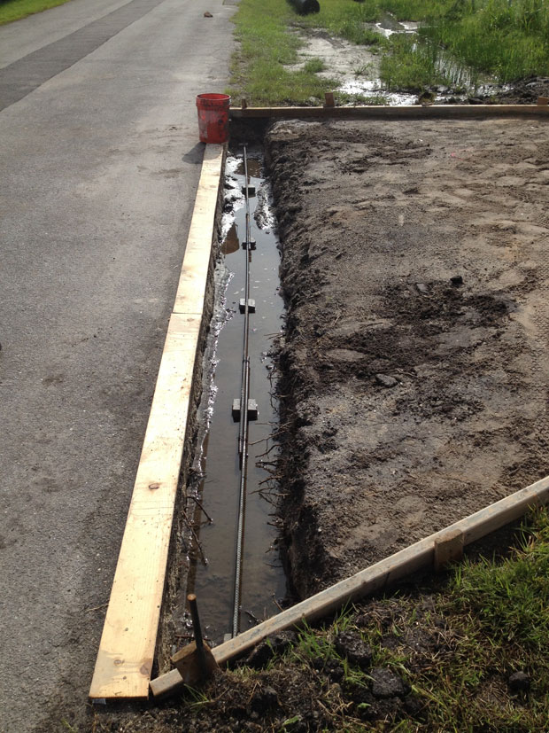 Concrete Driveway with Culvert in Palm Bay, FL 05