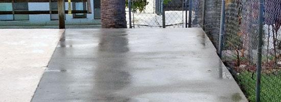 Concrete Patio Extension on Merritt Island, FL