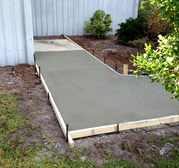 Kennedy Space Center Concrete Pads and Sidewalks-10