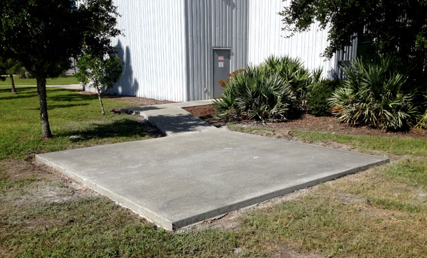 Kennedy Space Center Concrete Pads and Sidewalks-14
