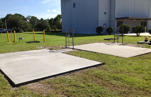 Concrete Pads and Sidewalks KSC - 16