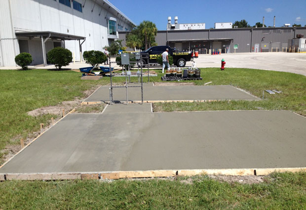 Cape Canaveral, FL Concrete Pads and Sidewalks-17