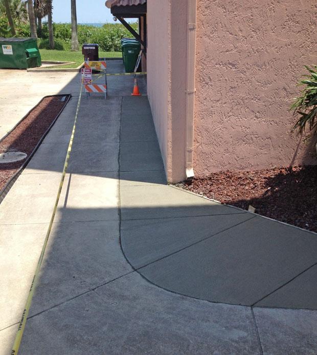 Las Olas Beach Club Concrete Walkway-08