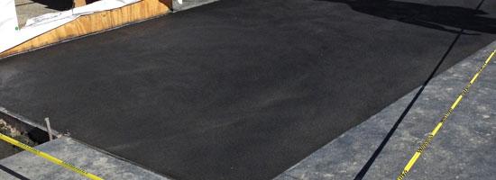 Port Canaveral custom decorative concrete for Ron Jon Surf Shop
