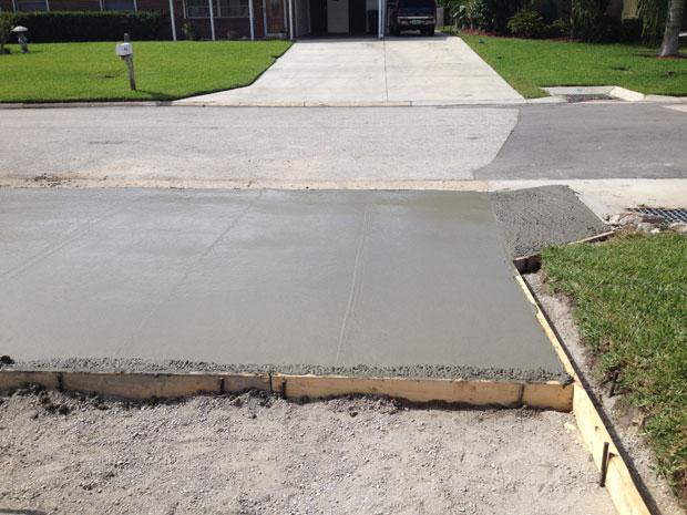 Concrete Driveway Cocoa Beach, FL 04
