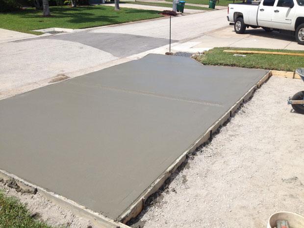Concrete Driveway Cocoa Beach, FL 05