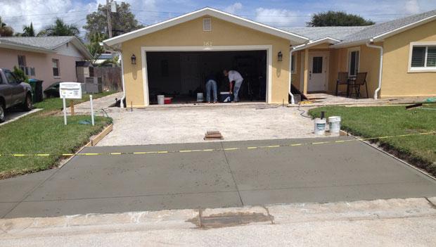 Concrete Driveway Cocoa Beach, FL 06