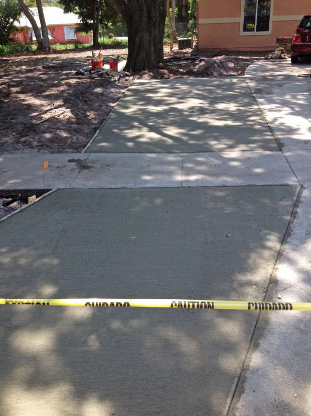 Merritt Island Concrete Driveway - 02