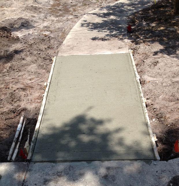 Merritt Island Concrete Driveway - 05