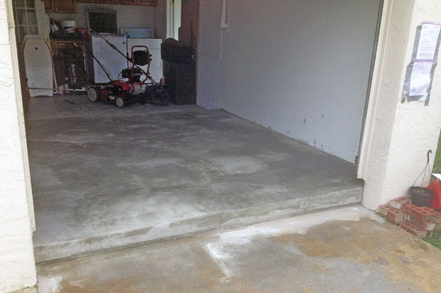 Concrete Slab Addition Brevard FL-08