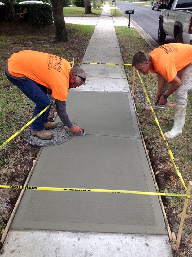 The Cloisters Sidewalk Repair in Indiatlantic, Florida-05