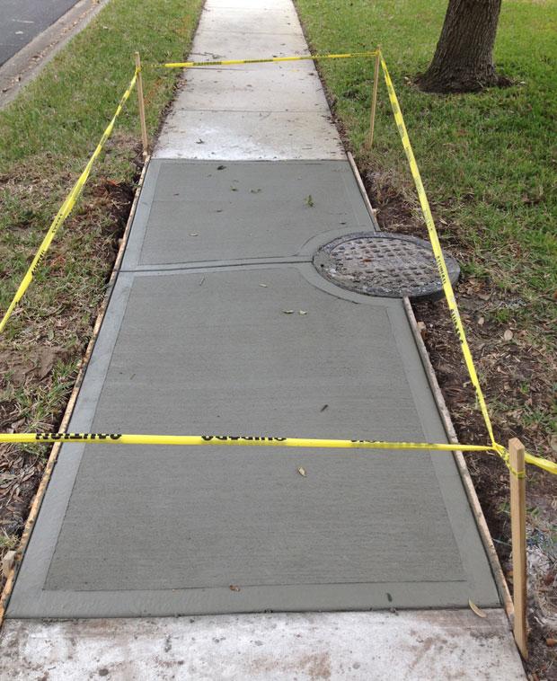 The Cloisters Sidewalk Repair in Indiatlantic, Florida-06