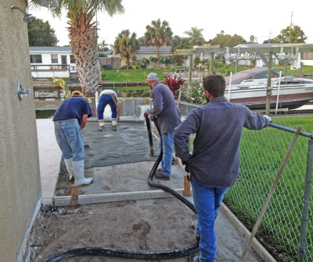 Concrete Patio Extension on Merritt Island, FL-04