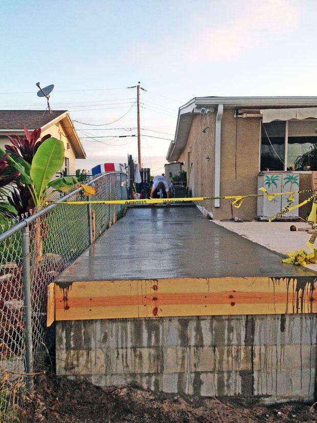 Concrete Patio Extension on Merritt Island, FL-05