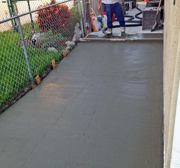 Concrete Patio Extension on Merritt Island, FL-07