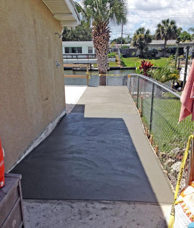 Concrete Patio Extension on Merritt Island, FL-08