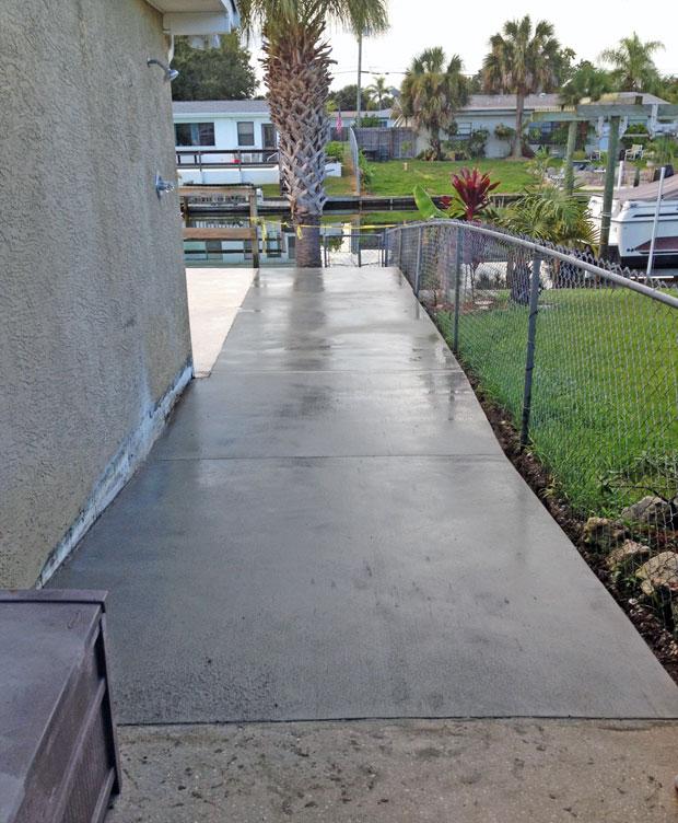 Concrete Patio Extension on Merritt Island, FL-10