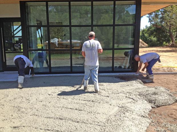 Custom Home Concrete Driveway FL - 07