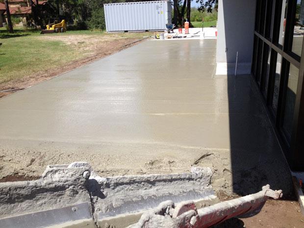 Custom Home Concrete Driveway FL - 08