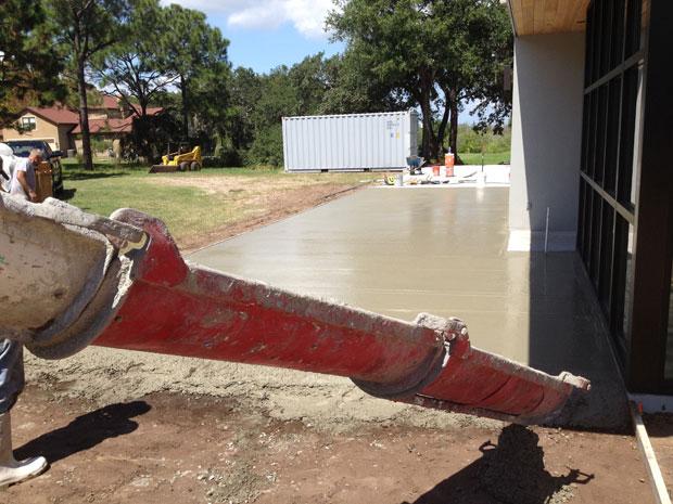 Custom Home Concrete Driveway FL - 09