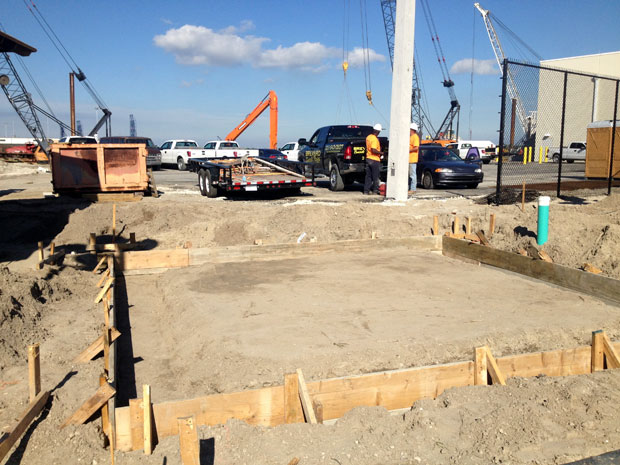 Ron Jon Surf Shop Concrete Foundation-09