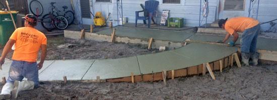 Concrete Patio Melbourne, Florida