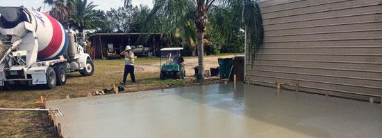 Concrete slab Merritt Island Florida - Main
