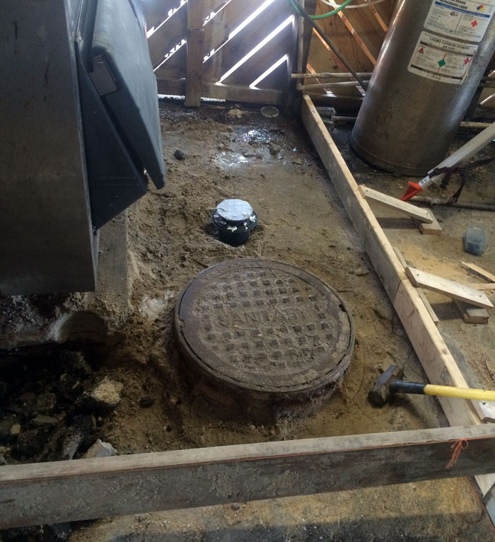 Grills Seafood Concrete Foundations - 02
