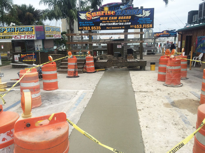 Grills Seafood Concrete Foundations - 06