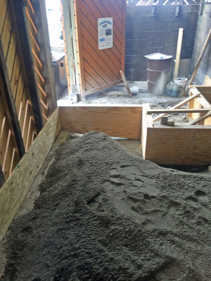 Grills Seafood Concrete Foundations - 09