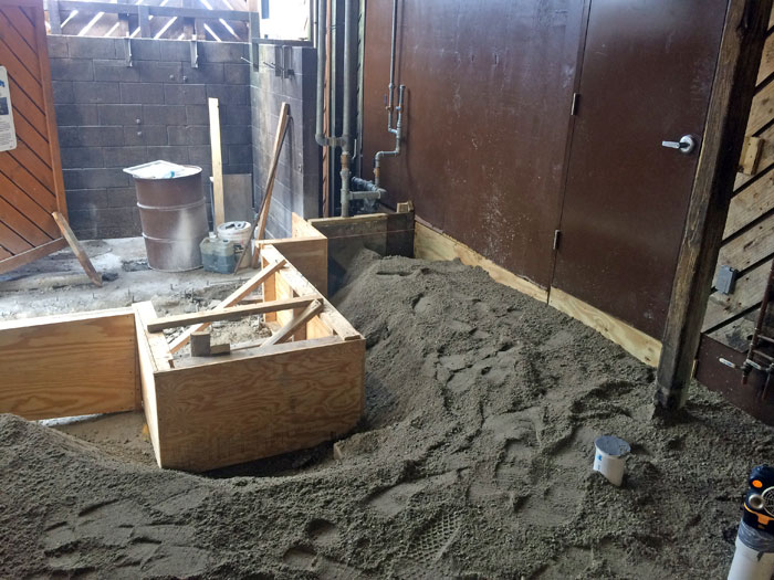 Grills Seafood Concrete Foundations - 10