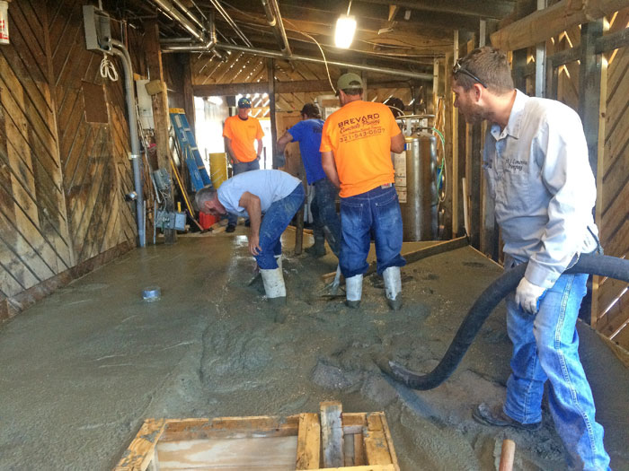 Grills Seafood Concrete Foundations - 13