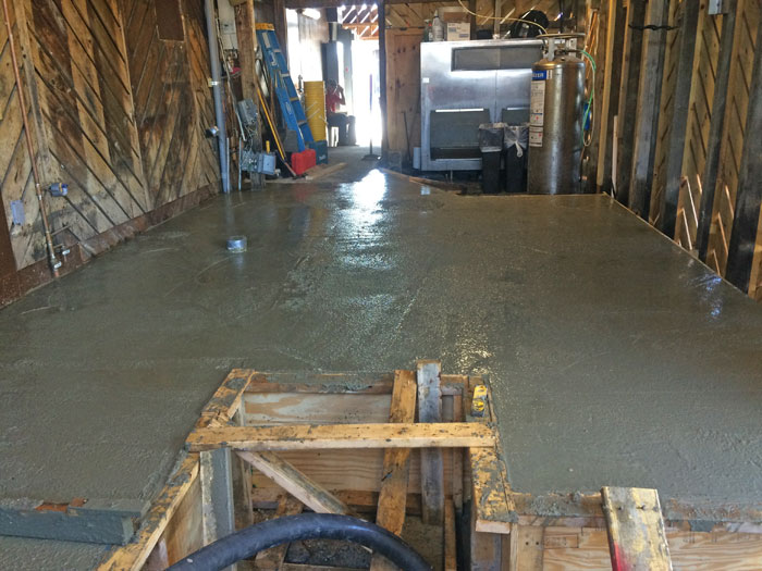 Grills Seafood Concrete Foundations - 14