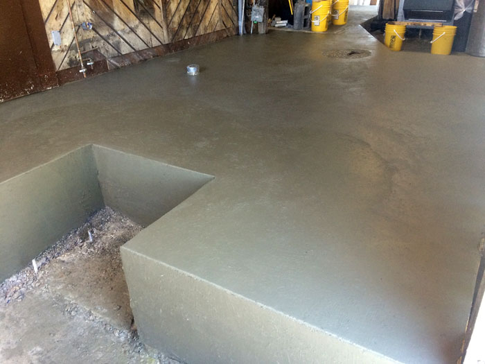 Grills Seafood Concrete Foundations - 15