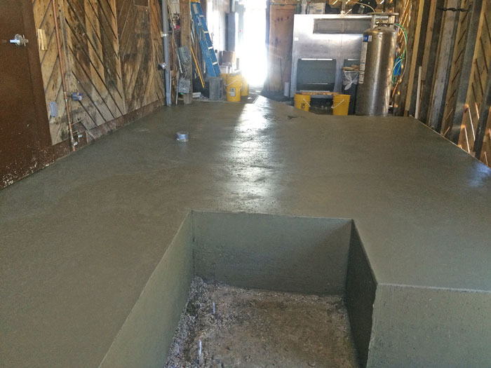 Grills Seafood Concrete Foundations - 16
