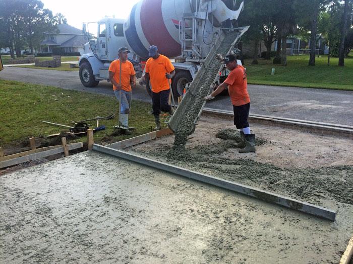 New Concrete Driveway Melbourne FL 10