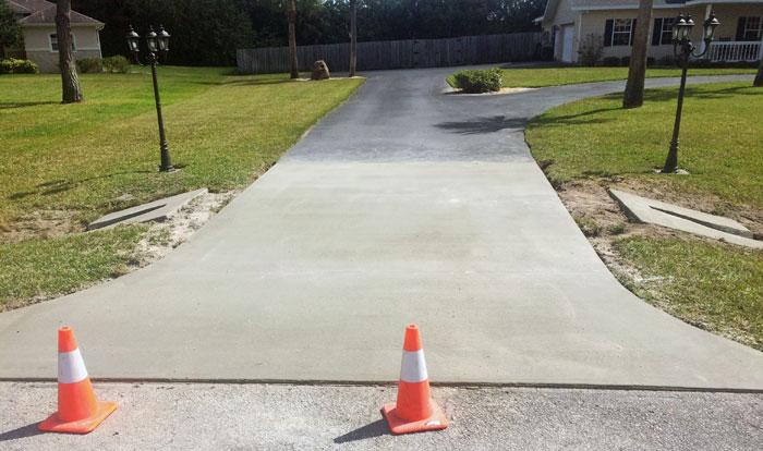 New Concrete Driveway Melbourne FL 14