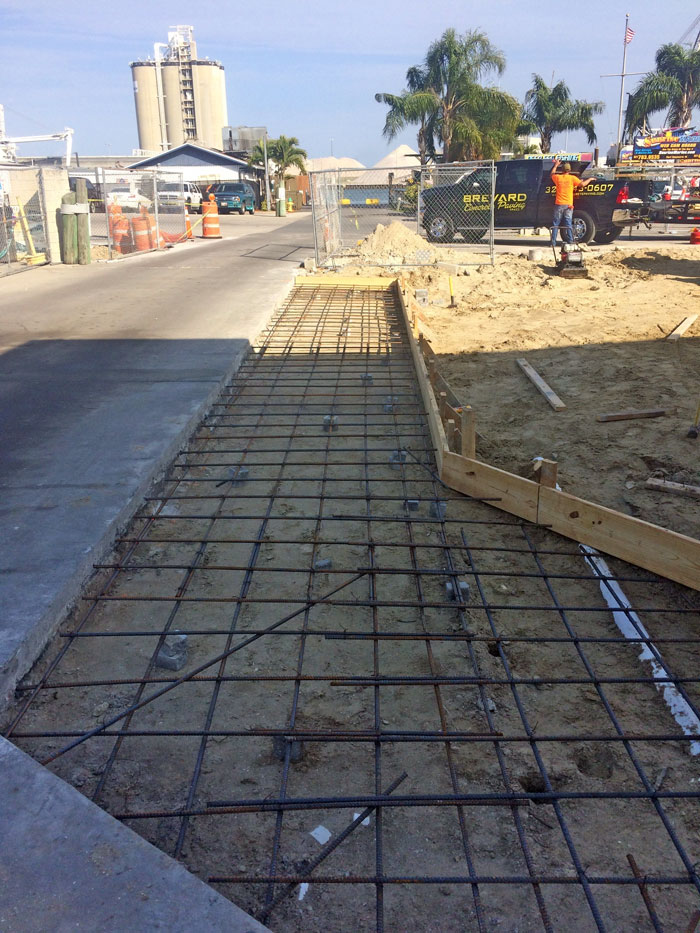 Sunrise Marina Reinforced Concrete Pavement - 07