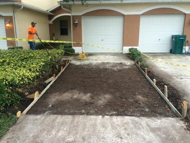 Concrete Driveway Melbourne, Florida - 05