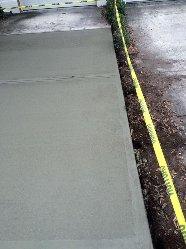 Concrete Driveway Melbourne, Florida - 09