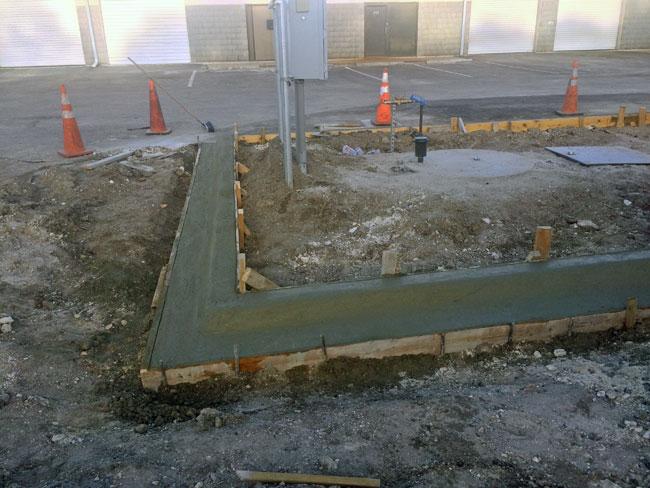 Concrete F-Curb, Melbourne, Florida - 11