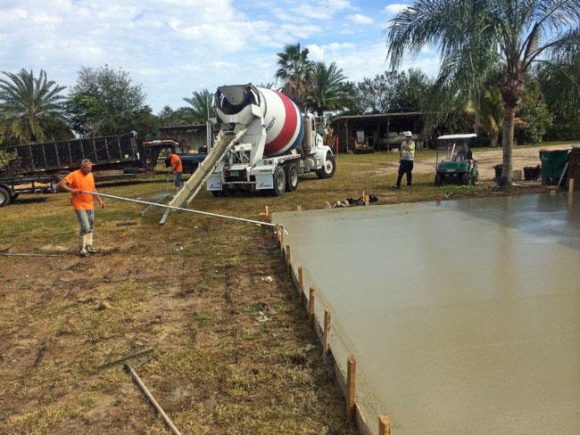 Concrete slab Merritt Island Florida - 06